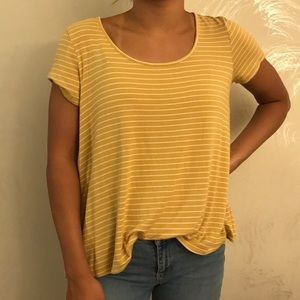 Forever 21 Flowy Scoop Neck T-shirt